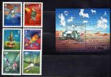 UNGARIA 1977, Cosmos, MNH, serie neuzata, Spatiu, Nestampilat