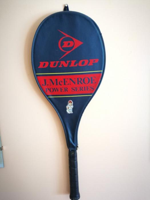 Rachetă tenis Dunlop J. McEnroe (Power series) + husa