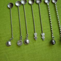 7 lingurite argintate pentru cafea