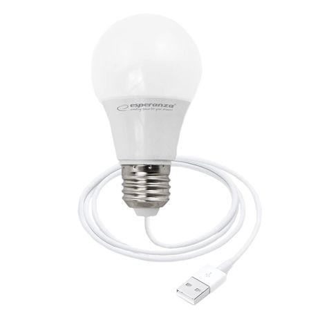 BEC LED E27 5W CU USB ESPERANZA