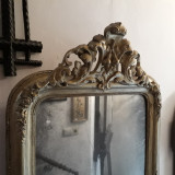Oglinda veche , secolul XIX , rama antica, 1800 - 1899