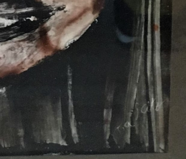 """Pictura Tablou Tia Peltz """"Portret"""""""