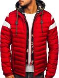 Cumpara ieftin Geacă de iarnă sport roșie Bolf 50A462