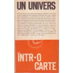 Un univers intr-o carte