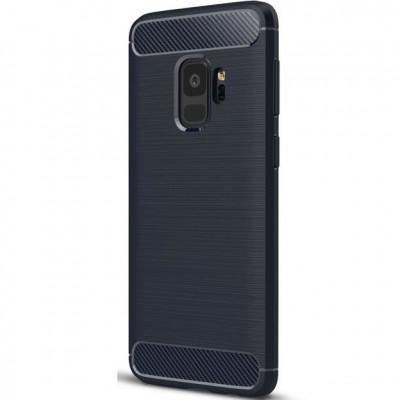 Husa SAMSUNG Galaxy S9 - Carbon (Bleumarin) Forcell foto