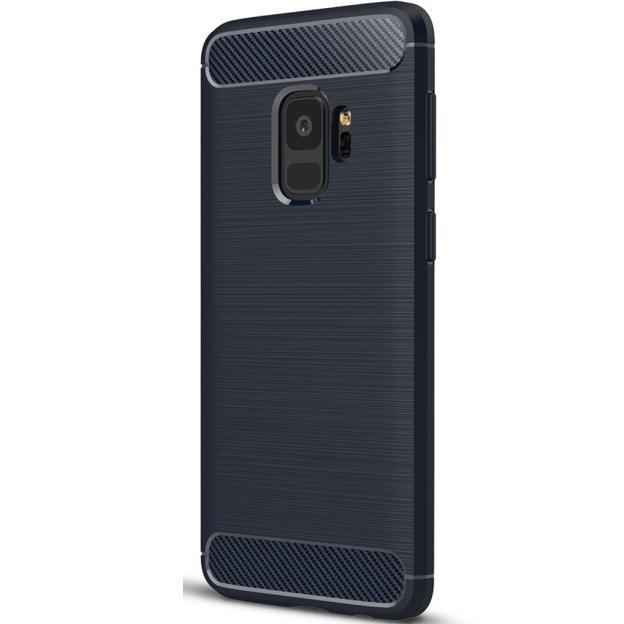 Husa SAMSUNG Galaxy S9 - Carbon (Bleumarin) Forcell