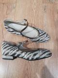LICHIDARE STOC! Pantofi dama noi superbi tesut+piele foarte comozi 37