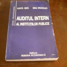 Auditul intern al institutiilor publice- Marcel Ghita, Mihai Spranceana 2004