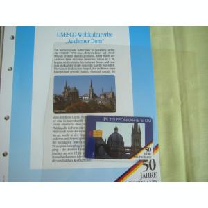 3 Cartele Telefonice 50 Jahre Deutschland - Exponate NOI / 11