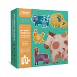 Puzzle pentru Copii 2 ani cu Animale Domestice, 30 Piese, My First Puzzle