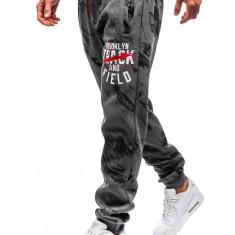 Pantaloni de trening joggers grafit Bolf 55090