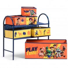 Organizator jucarii cu cadru metalic Toy Story