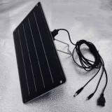 Panou solar incarcator solar USB 5V camping excursii rulota etc