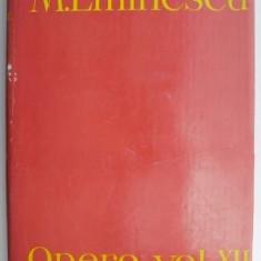 Opere, volumul XII – Mihai Eminescu