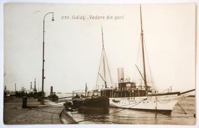Carte postala interbelica Galati - circulata, 1930 foto