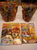 Lego Chima - 70208 + 70211 - Chi Phantar + Chi Sir Fluminox
