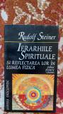IERARHIILE SPIRITUALE SI REFLECTAREA LOR IN LUMEA FIZICA.AUTOR RUDOLF STEINER