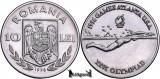 1996, 10 Lei - Swimmer - Romania