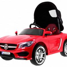 Masinuta electrica Roadster cu copertina, rosu