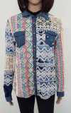 Bluza dama-Desigual, L, Combinatie de culori