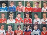 Fotografii cu fotbalistii nationalei fostei URSS