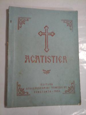 Acatistier - Inalt prea Sfintitul Lucian arhiepiscopul Tomisului foto