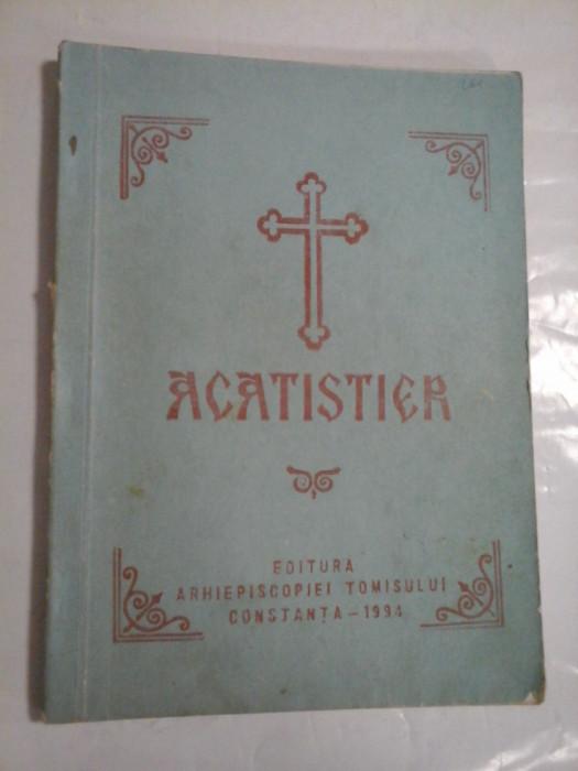 Acatistier - Inalt prea Sfintitul Lucian arhiepiscopul Tomisului