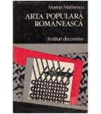 Arta populara romaneasca - tesaturi decorative