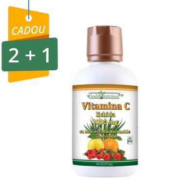 Vitamina C lichida 1000 mg 237ml, Pachet 2+1 Cadou foto