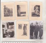 Bnk foto - lot 6 fotografii portrete - Foto Daniel Ramnicu Sarat, Alb-Negru, Romania 1900 - 1950