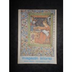 REVISTA MAGAZIN ISTORIC (Decembrie, 1991)