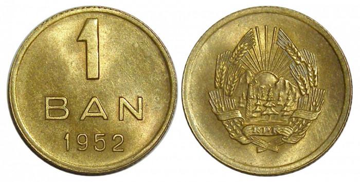 MONEDA 1 BAN 1952 UNC NECIRCULATA