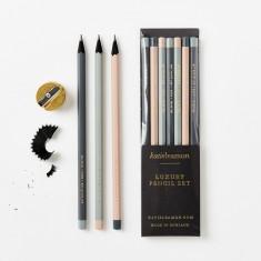 Set de 7 creioane - Hide Assorted Pencils | Katie Leamon