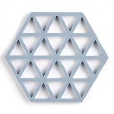 Suport din silicon pentru vase fierbinti Triangles Pastel, L16xl14 cm, Zone Denmark