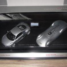 Set machete Audi 1:43 Dealer edition