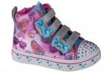 Cumpara ieftin Pantofi pentru adidași Skechers Twi-Lites Mermaid Gems 20223N-MLT Roz, 21 - 24