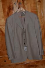 Costum barbati lana 60% nou cu eticheta / Costum LUX nou mar. 54 (XL)  FALLA foto