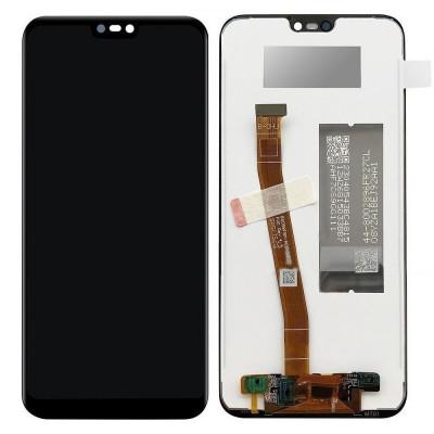 Inlocuire Display + Touchscreen HUAWEI P20 Lite (Negru) foto