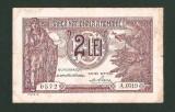 Bancnota 2 LEI 1938 . VF- .  CEL MAI MIC PRET !!