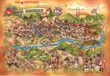 Carte postala Bucovina SV185 Gura Humorului