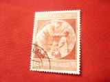 Serie Germania 1940 -Deutsches Reich - Aniv. A.Hitler , 1 val. 12+38pf stampilat
