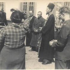 Fotografie ofiter roman ofiter german, preot, al doilea razboi mondial