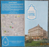 BUCURESTI HOTEL CAPITOL -Reclama tiparita,anii '76.