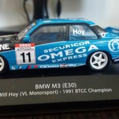 macheta bmw m3 e30 btcc 1991 - atlas, 1/43, noua.
