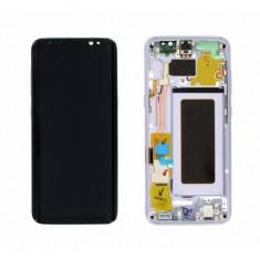 Display cu touchscreen cu rama mov samsung galaxy s8 g950