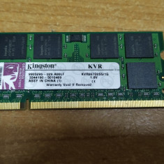 Ram Laptop Kingston 1GB DDR2 KVR667D2S5-1G