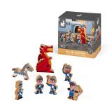 Set de joaca din lemn, Mini povesti Janod, Cavaleri