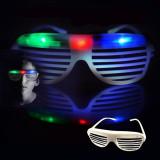 Ochelari Shutter cu 3 LED-uri colorate pentru petreceri, ProCart
