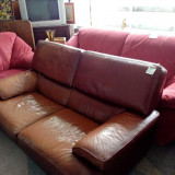 Canapea piele naturala