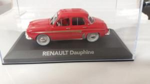 macheta renault dauphine 1960 - atlas, 1/43, noua.
